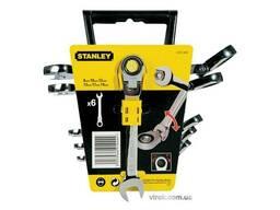 """Набір ключів комбінованих з тріщаткою Stanley """"MaxiDrive Plus"""" 6 шт"""