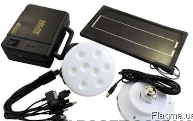 Набір світлодіодних лампи сонячна батарея - 8006