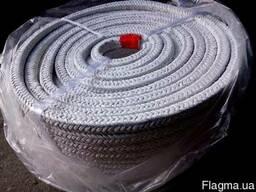 Асбестовый плетеный квадратный шнур (для дверки котла)