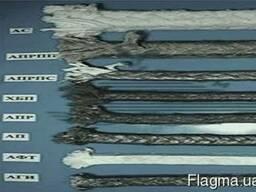 Набивки ХБП 4,5 и 30-50мм,6-28мм; АСП4-5мм,6-14мм,16-50мм