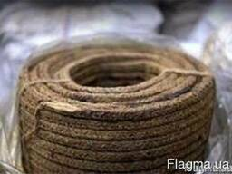 Набивка плетеная, латунной проволокой, от Ф- 20мм- 28мм