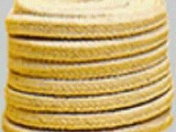 Набивка сальниковая ХБП - плетеная, хлопчатобумажная