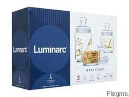 Набор банок для круп ТМ Luminarc