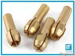 Набор цанг латунных 4 шт. 1. 0 мм / 1. 6 мм / 2. 4 мм / 3. 2 мм