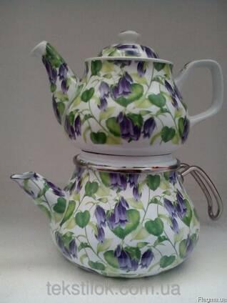 Набор чайный Гибискус синий 4841