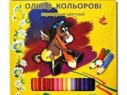 Набор цветных карандашей Пегашка Marco 48 цветов - фото 1