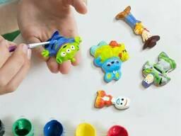 Набор для изготовления магнитов из гипса История игрушек Disney 4M (00-06219)