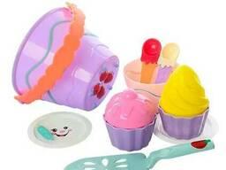 Игровой набор для песочницы Ferug Yu с формочками (Pink) (743P(Pink))