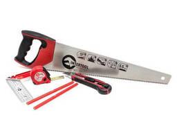 Набор инструмента столярный 6 ед. (ножовка, нож. ..