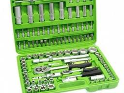 Набор инструментов Al-Fa 108 елементов хром-ванадий
