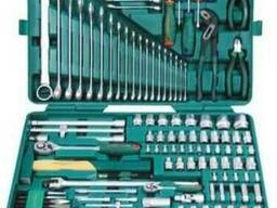 Набор инструментов Jonnesway из 127 предметов, S04H524127S