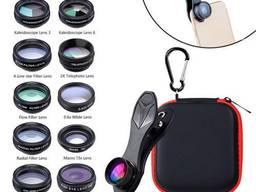 Набор из 10 объективов линз для смартфона APEXEL APL-DG10, Аксессуары к мобильным телефона