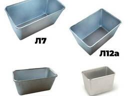 Набор из 4 хлебных форм алюминиевых для выпечки хлеба Л7 Л12 Л12а Л11