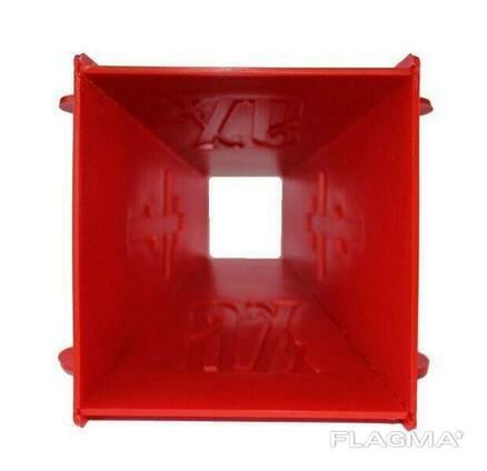 Набор из 4 форм для творожной и сырной пасхи (пасочницы) 2x0.5 кг / 2x0.3 кг