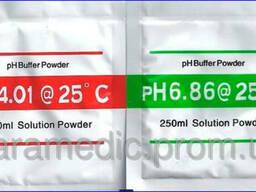 Набор калибровочных растворов для PH метров PH = 4,00 и 6,86