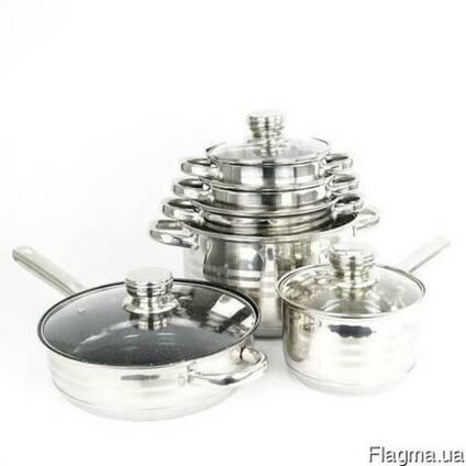 Набор кастрюль с 9-слойным дном SwissHaus (посуда Свис Хаус)