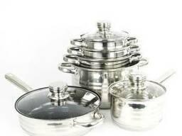 Набор кастрюль с 9-слойным дном SwissHaus (посуда Свис Хаус) - фото 1