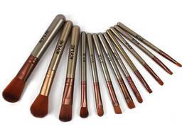 Набор кистей для макияжа Kylie Professional - Золото (12. ..