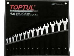 """Набор ключей комбинированных 14 шт. 8-24 """"Hi-Performance"""", GPAX1402 Toptul"""
