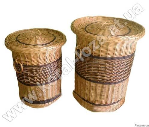 Набор корзин для белья из 2шт. 553-2-34