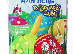Набор красителей для пасхальных яиц с восковыми. ..