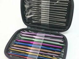 Набор крючков для вязания, 22 шт