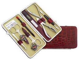 Набор маникюрно-педикюрный Niegelon 07-0703, 8 предметов. ..