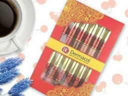 Набор матовых помад и блеск для губ Dermacol DC 12 шт SKL11-131701