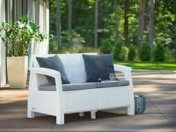 Набор мебели искусственный ротанг. Садовая мебель. Keter