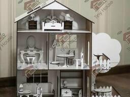 """Набор мебели """"Ванная комната"""" для кукольного домика ЛОЛ TinyHouse"""