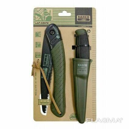 Набор нож 230 мм и складная пила 396-LAP Bahсo