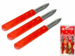 Набор ножей для чистки овощей Snt Маруся 8586 15 см 3 предмета