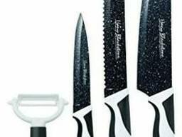 Набор ножей с керамическим покрытием Harry Black Stone