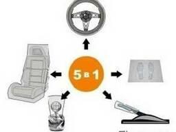 Набор одноразовых чехлов для автомобиля 5 в 1 100 упаковок