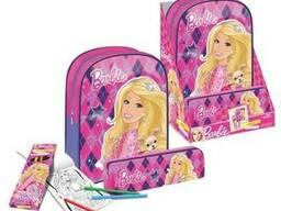 Набор подарочный Barbie Барби с рюкзаком, пеналом, карандаша