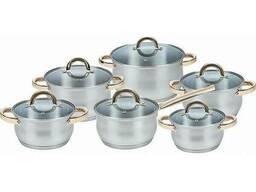 Набор посуды Maestro 5 кастрюль + ковш