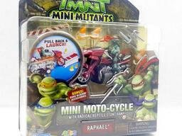 Набор Рафаель на мотоцикле - Raphael and moto-cycle, 4Kids, 7 см, Playmates SKL14-143186