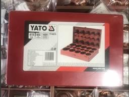 Набор резиновых уплотнительных колец YATO YT-06876 (Кольца уплотнительные)