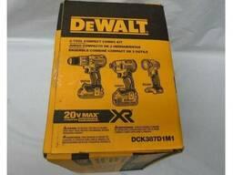 Набор шуруповертов DeWALT DCK387.