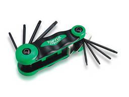 Набор складной ключей TORX: T6-T25 (материал CRV-6150). ..