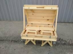 Набор складной мебели для природы «Пикник» 505х725х210 мм - фото 3