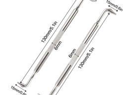 Набор стальных отверток с магнитным наконечником со смещением типа Z с двойным изгибом 2шт