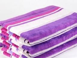 Набор велюровых полотенец, Индия, 40*60, 2 шт. в упаковке