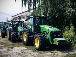 Оренда трактора, обробіток землі, збирання врожаю.