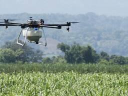 Внесення ЗЗР/добрив дронами, обприскування дроном, десикація агродроном