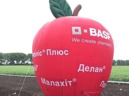Надувная копия яблоко наружная реклама