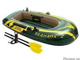 Надувная лодка под мотор INTEX