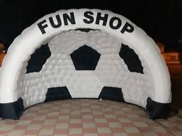 Надувная палатка Футбольный Мяч украинского производства
