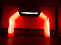 Надувная рекламная арка с подсветкой