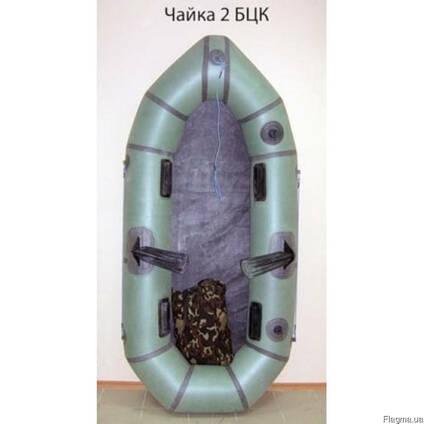 """Надувная резиновая лодка """"Чайка"""" Лисичанка, двухместная"""